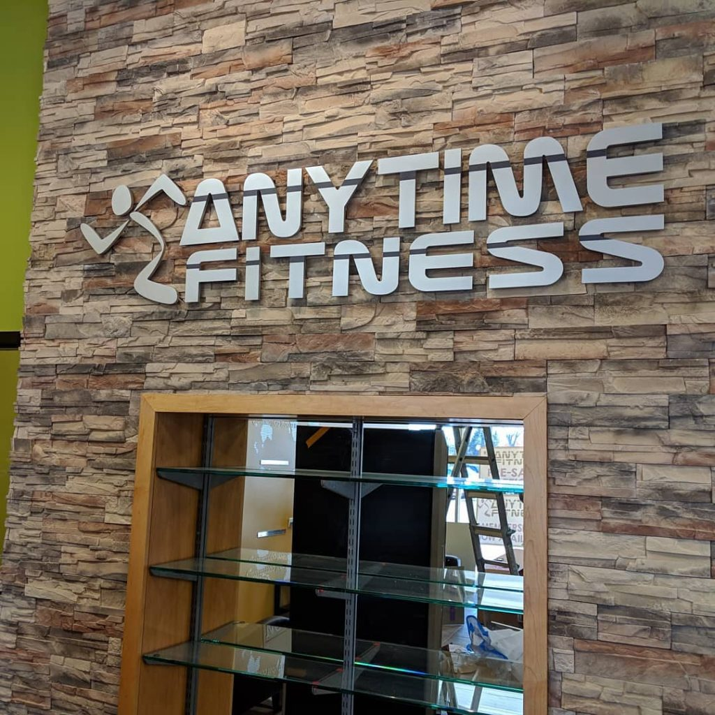 Anytime Fitness Channel Letters