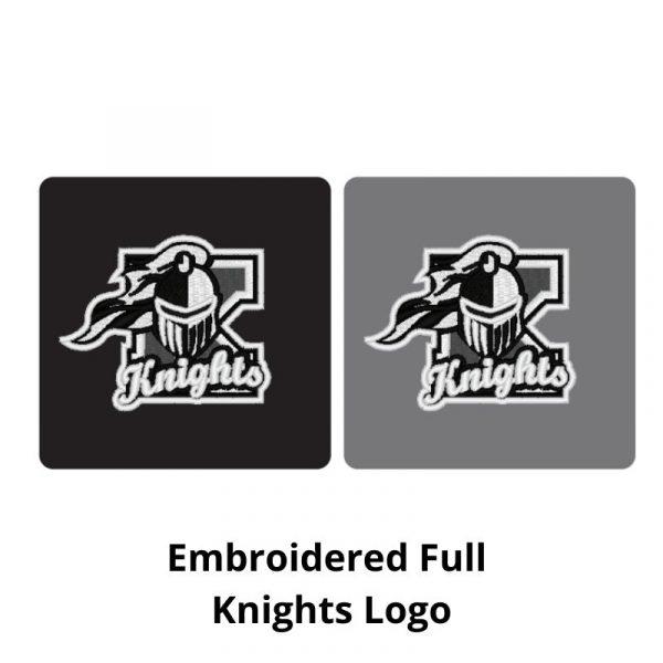 Full Embroidered Kaneland Knights Logo