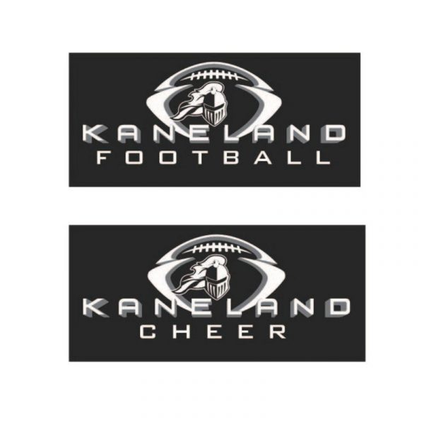 Kaneland Youth Football League Car Decals