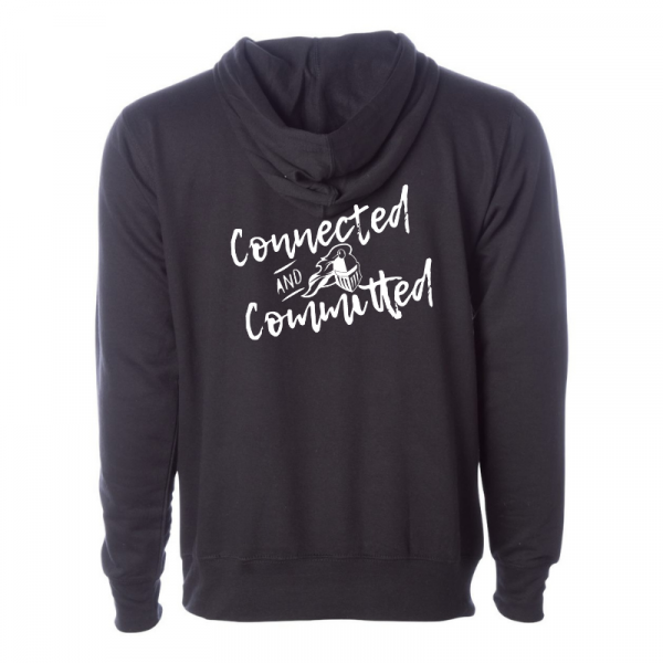 KHS Graduate Profile Independent Trading Co (ss4500) Black Unisex Hoodie Back
