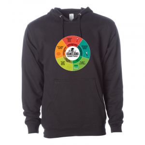 KHS Graduate Profile Independent Trading Co (ss4500) Black Unisex Hoodie Front