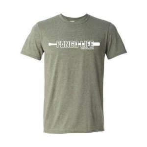 Fungo Life T-Shirt Heather Military Green