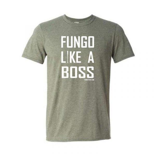 Fungo Like A Boss Heather Military Green
