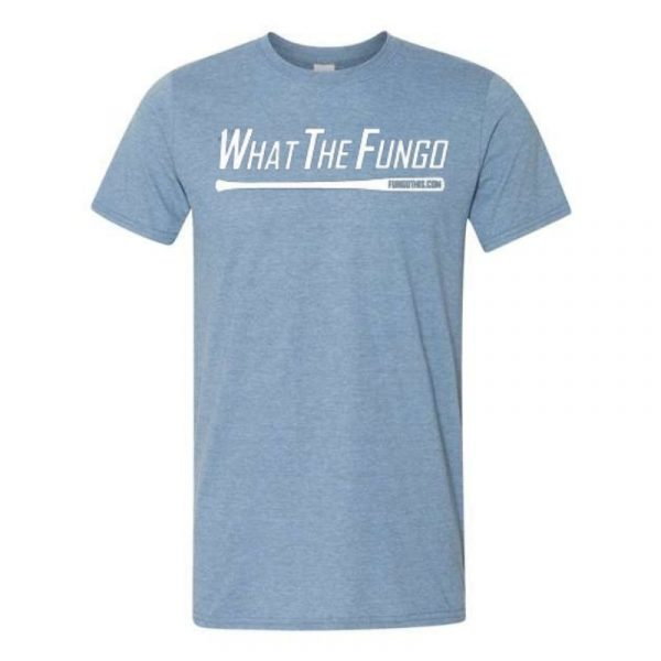 What the Fungo T-Shirt Heather Blue