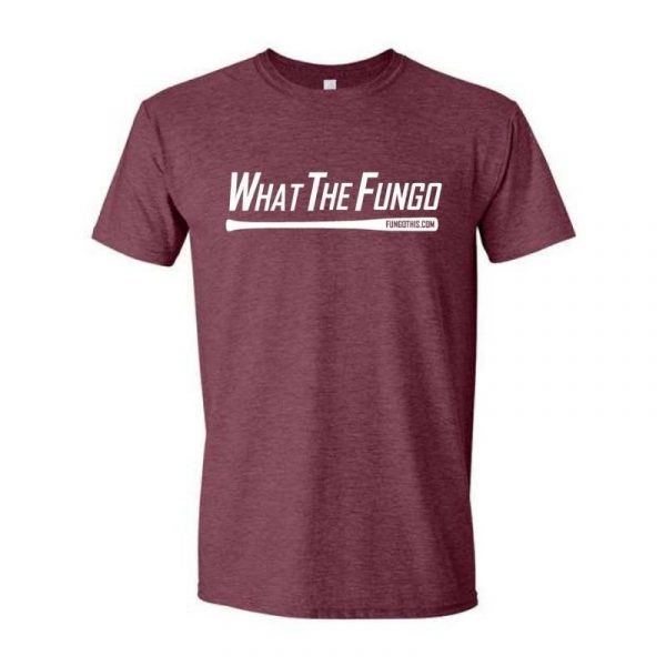 What the Fungo T-Shirt Heather Red