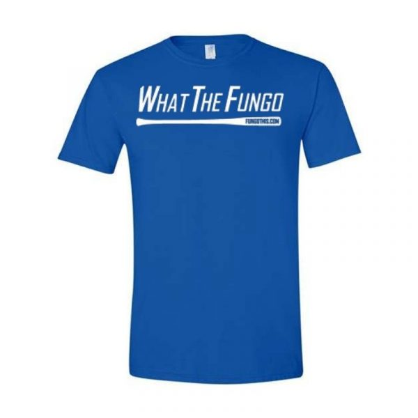 What the Fungo T-Shirt Royal Blue