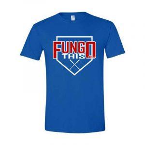 Fungo This Logo T-Shirt Royal Blue
