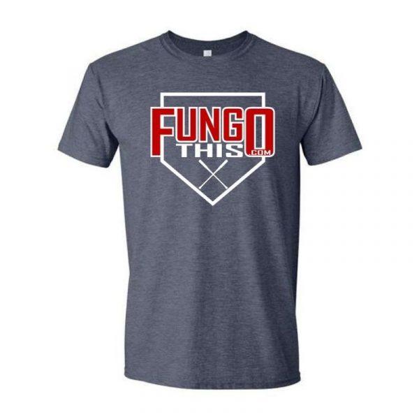Fungo This Logo T-Shirt Grey