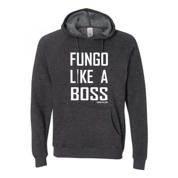 Fungo Like A Boss Hoodie Grey