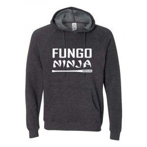 Fungo Ninja Hoodie Grey