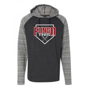 FungoThis Light Weight Hoodie Heather Charcoal