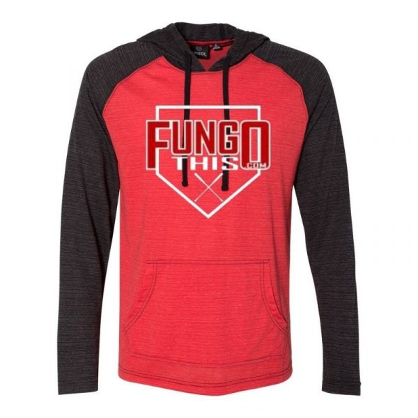 FungoThis Light Weight Hoodie Red Black