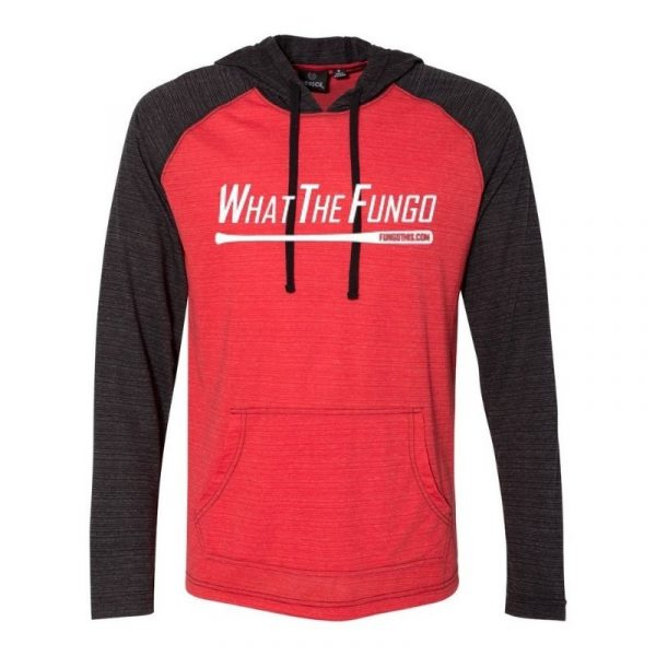 What the Fungo Lightweight Hoodie Red Black Lightweight Hoodie Red Black